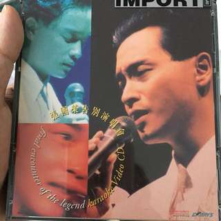 Leslie cheung 2 video CDs
