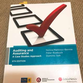 Auditing and Assurance - A case studies approach (6th Edition)