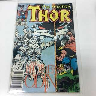Thor 349 Marvel Comics Book Avengers Movie