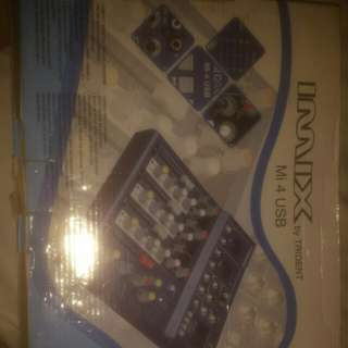 imix by trident 4 channels mixer(negotiable)