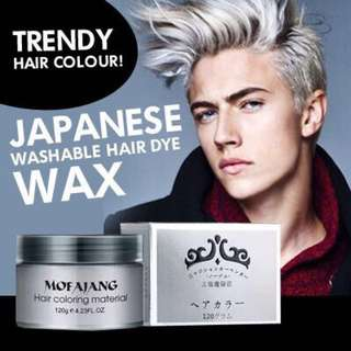 Japan colour hair wax