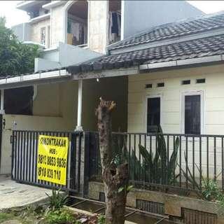 Disewakan rumah jatibening estate
