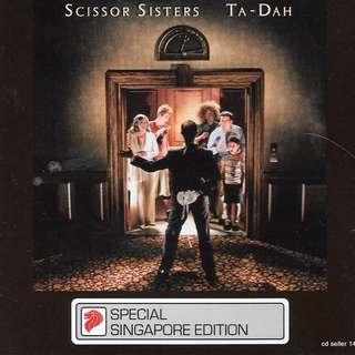 MY CD - SCISSOR SISTERS  TA-DAH - FREE DELIVERY