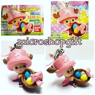 2012年 絕版 Bandai扭旦 One piece Chopper Man 1)ピンク掛飾