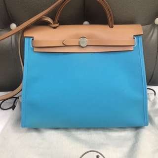 Hermes Herbag 31 Bi color