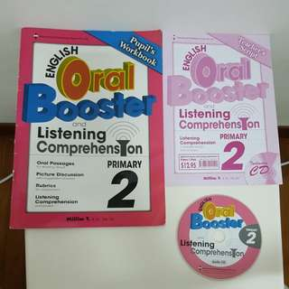 WTG English Oral Booster with any purchase