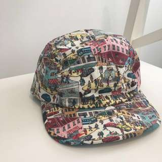 Where's Waldo Five panel Hat