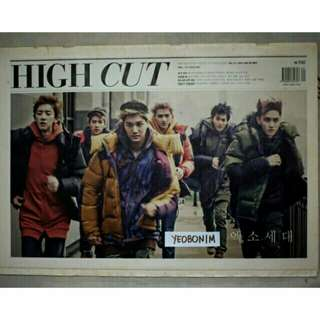 EXO HIGH CUT MAGAZINE Vol. 111
