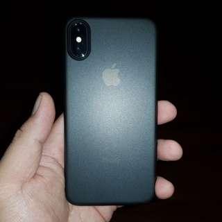 Case iPhone X Spigen Air Skin