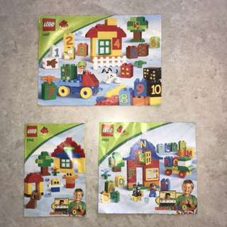 *Reduced* LEGO Duplo for sale (3 sets with over 200 pieces total)