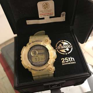 G-SHOCK FROGMAN 25th Anniversary Glorious Gold GW-225E