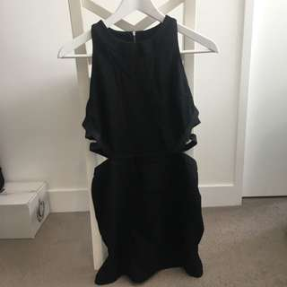 Topshop Cut Out Dress