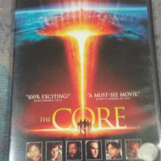 The Core DVD movie