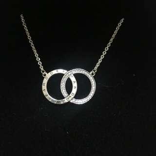 Pandora circles necklace