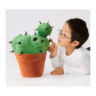 [IKEA] HEMMAHOS Soft Toy / Cactus / Green