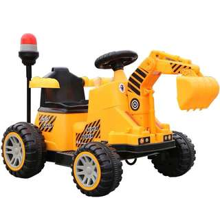 Large bulldozer light music battery7V6AH 2-7 year old