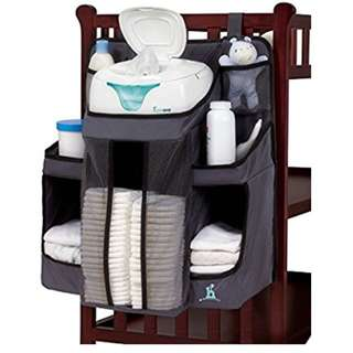 Nursery Organiser & Hanging Diaper Caddy