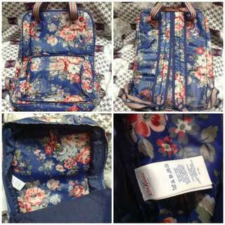 Authentic Cath Kidston Floral Backpack Bag