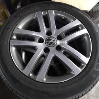 16 inch VW Volkswagen Golf sport rim for golf jetta