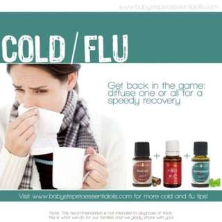 Young living essential oils cold flu