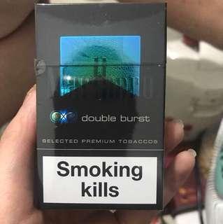 Marlboro double burst