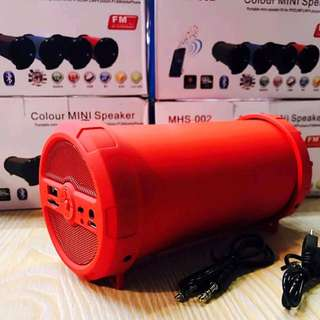 Colour mini bluetooth speaker