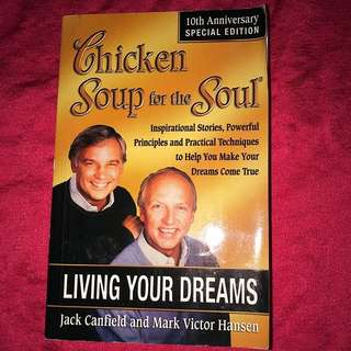 Rp$24- Living Your Dream: Chicken Soup For The Soul #idotrades