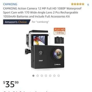 CAMKONG action camera
