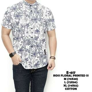 Ross floral printed ss