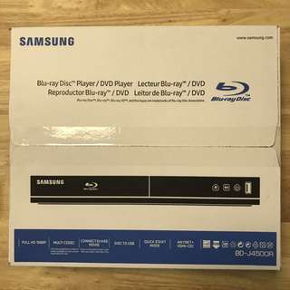 Brand New Samsung Blu-Ray Dvd Player BD-J4500R