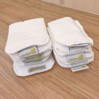 Bamboo Dappy Washable Cloth Diaper Liners