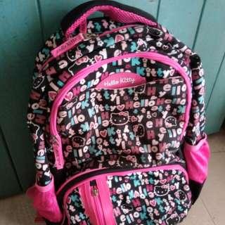 Preloved Hello Kitty School Bag