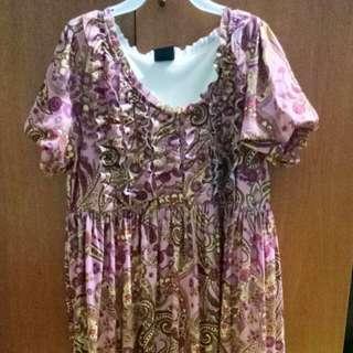 Floral bubble dress (medium)