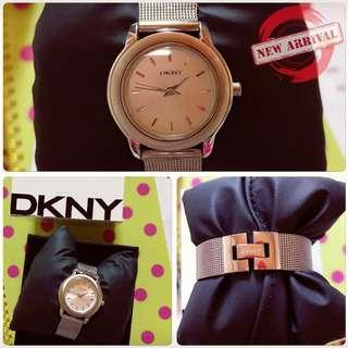 DKNY Silver Dial Stainless Steel Bracelet Ladies Watch