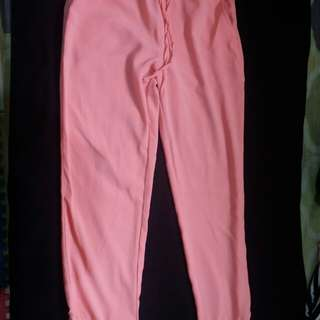 Celana Jogger Pink - Tosca