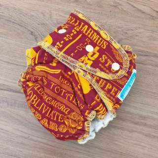 Fluffy Pwets Cloth Diaper with insert- Harry Potter design