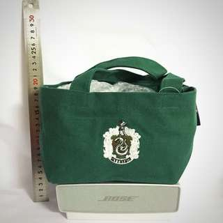 Vintage Harry Potter Bag Pouch Slytherin Universal Studio Japan