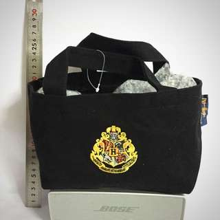 Vintage Harry Potter Bag Pouch Hogwarts Universal Studio Japan