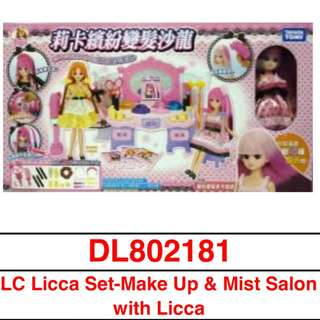 Licca Set-Make Up & Mist Salon with Licca