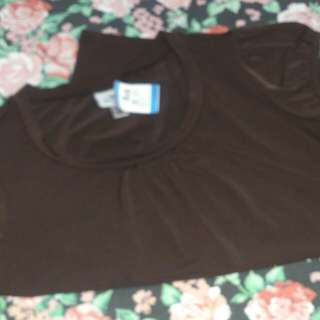 Stretchable brown blose