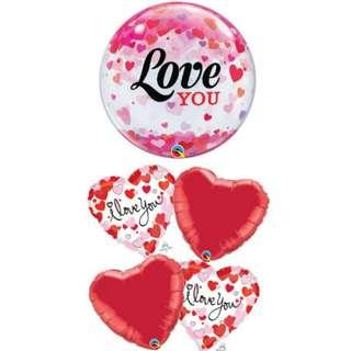 Valentine's Balloons Vday