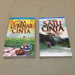 Brand New Malay Novels @ $4 each