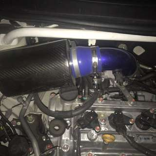 Air intake carbon (made in Taiwan) but no brand