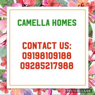 Camella Homes (Cavite and Las Piñas areas)