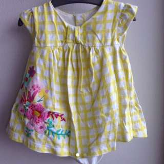 Mothercare baby girl floral dress