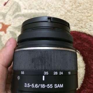 Sony lense 3.5-5.6/18-55 SAM