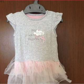 Mothercare ballerina rompers