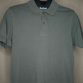 Uniqlo Gray Collared Shirt