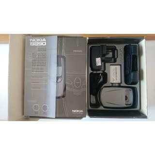 99% 新 極罕有 行貨 Nokia 8890 全套連盒 對IMEI