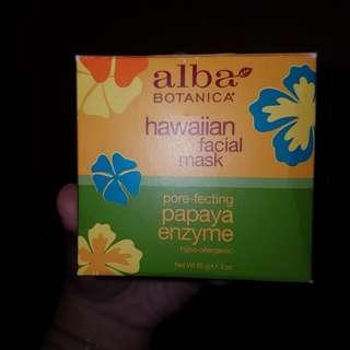 Alba Botanica porefacting facial mask